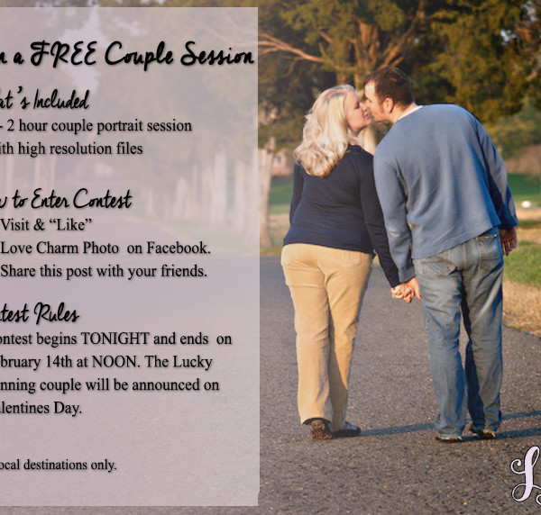 Valentines Day Couple Session Giveaway