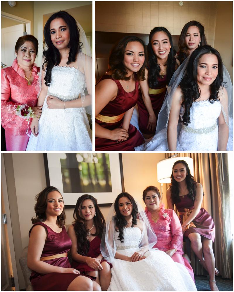 brides maids pile 1