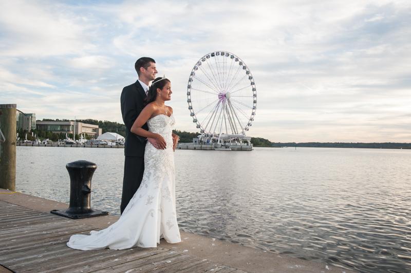 Yolanda & Russell Wedding Session @ National Harbor: Maryland Wedding Photographer