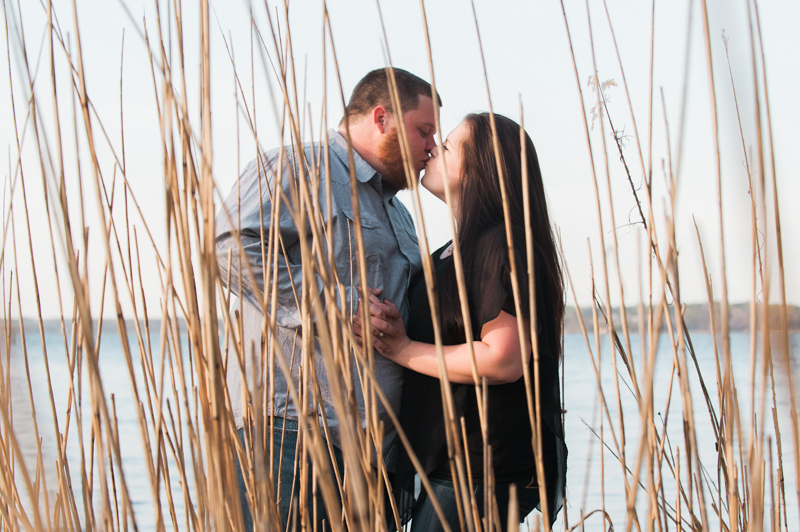 Eddie & Ashley's Engagement Session in Southern Maryland (Photos by Love Charm Photo).
