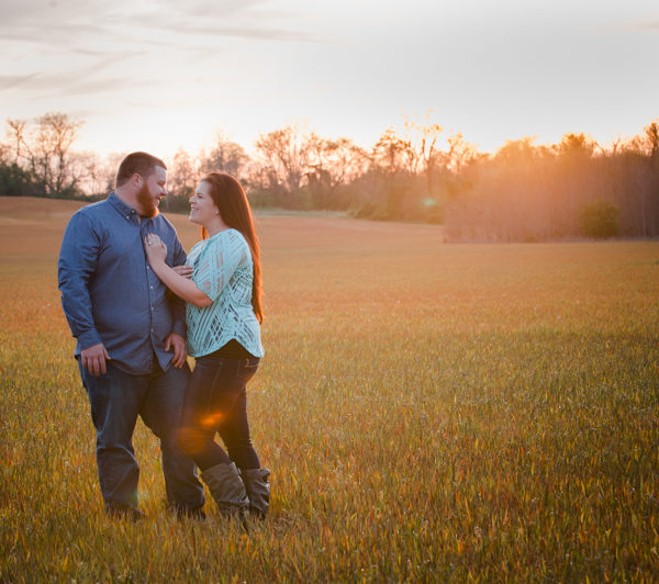 Ashley & Eddie's Southern Maryland Engagement