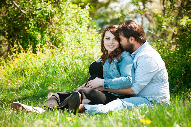 Dannielle & Jason's Southern Maryland Maternity Session