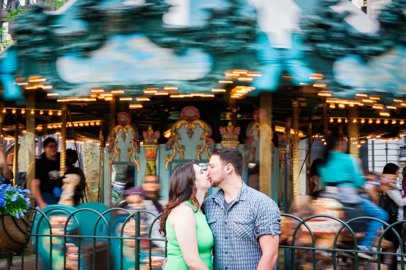 Leanne & John's New York City Engagement