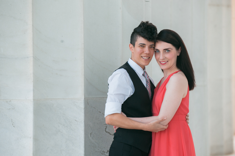 Kate & Olivia's Couple Session in Washington, DC on May13, 2016 (Photos by Love Charm Photo).