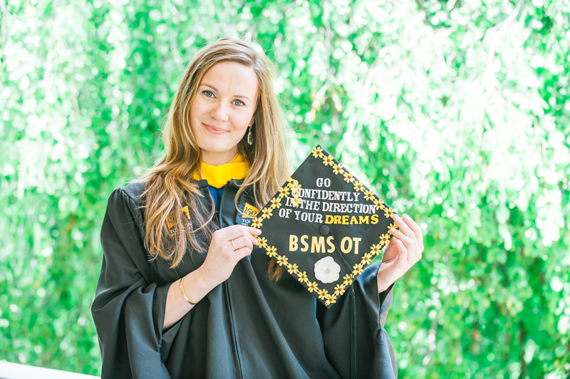 Lily's Graduation Session at Towson University on May 19, 2016 (Photos by Richie Downs).