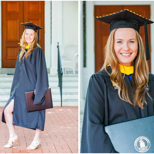 Lilly's Maryland Graduation Session