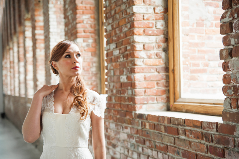 Pioneer Works Wedding Styled Shoot, Brooklyn, New York City. May 2016.