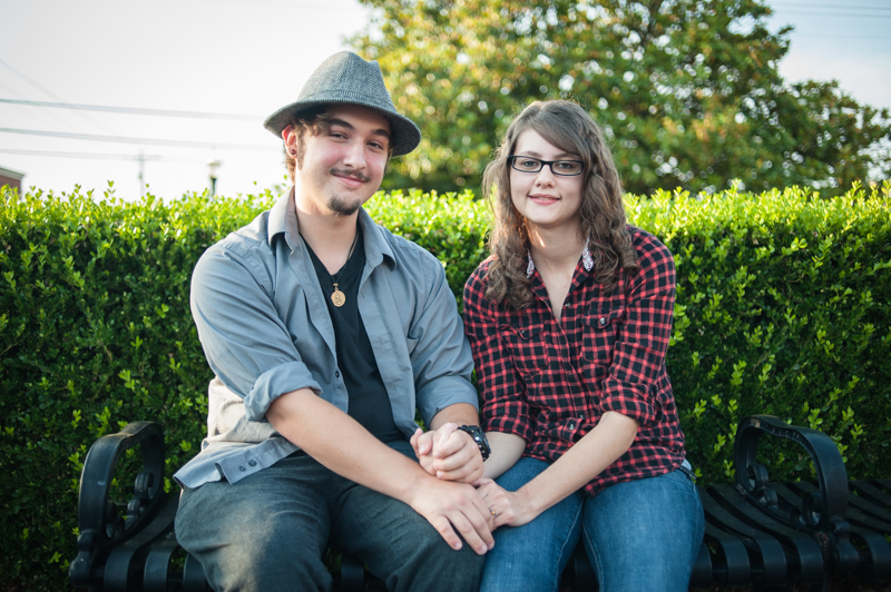 Samantha & Patrick's Engagement Session in Leonardtown, MD (Photos by Love Charm Photo).