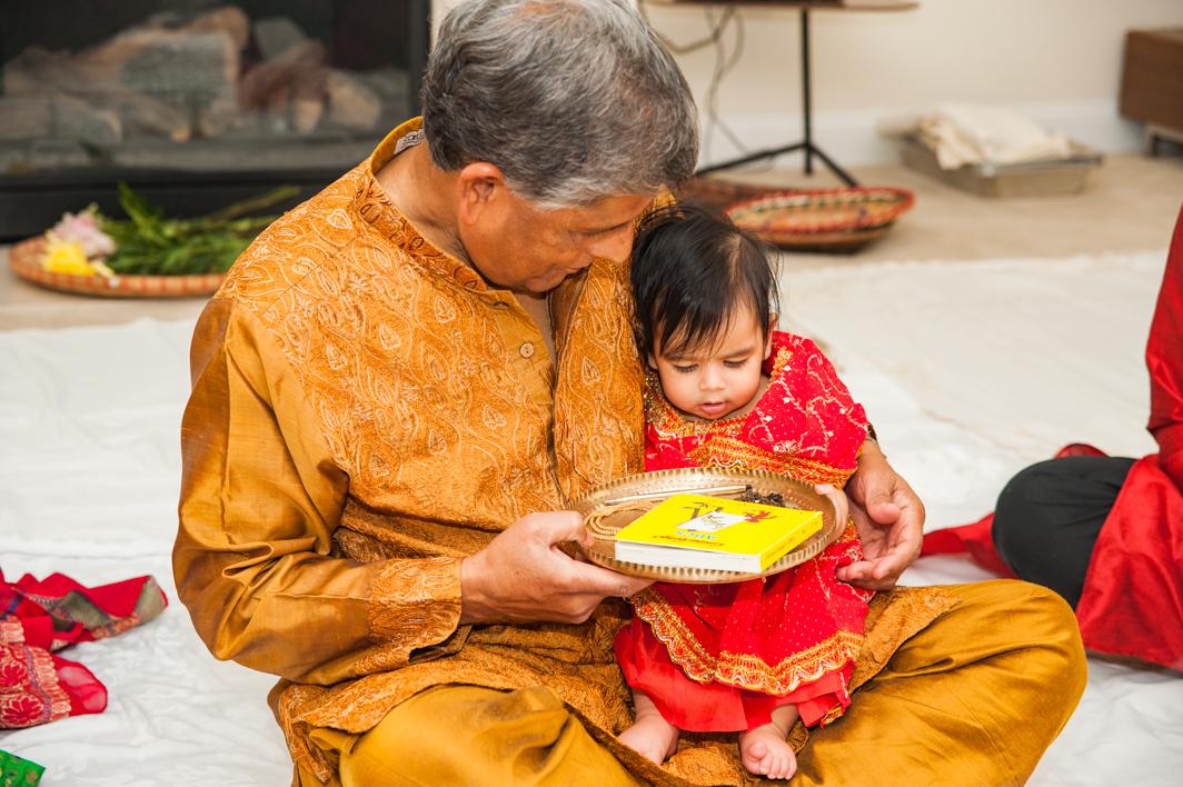 Leela's Rice Ceremony on September 17, 2016 in Arlington, VA. (P