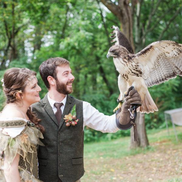 Tierra & Bradley's Magical Themed Maryland Wedding