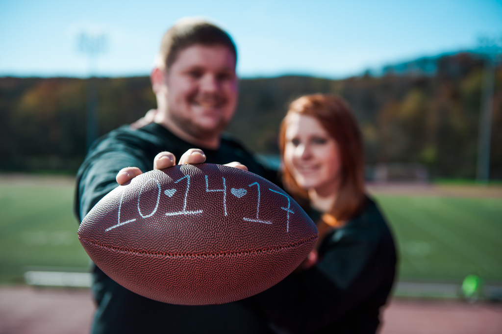 Frostburg, MD - November 5, 2016 - Gabby and Robert's Engagement at Frostburg University. (Photos by Love Charm Photo)