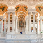 Senior Portrait Session at Library of Congress