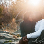 Udim and Adam's Great Falls Engagement Session