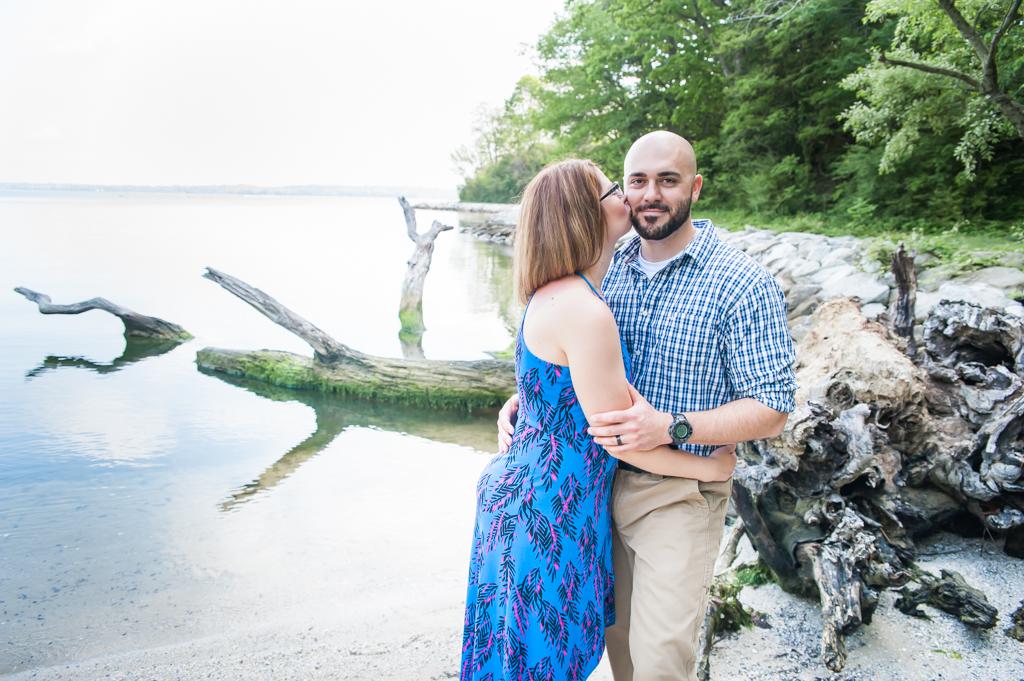 Amanda & Tony's Southern Maryland Engagement