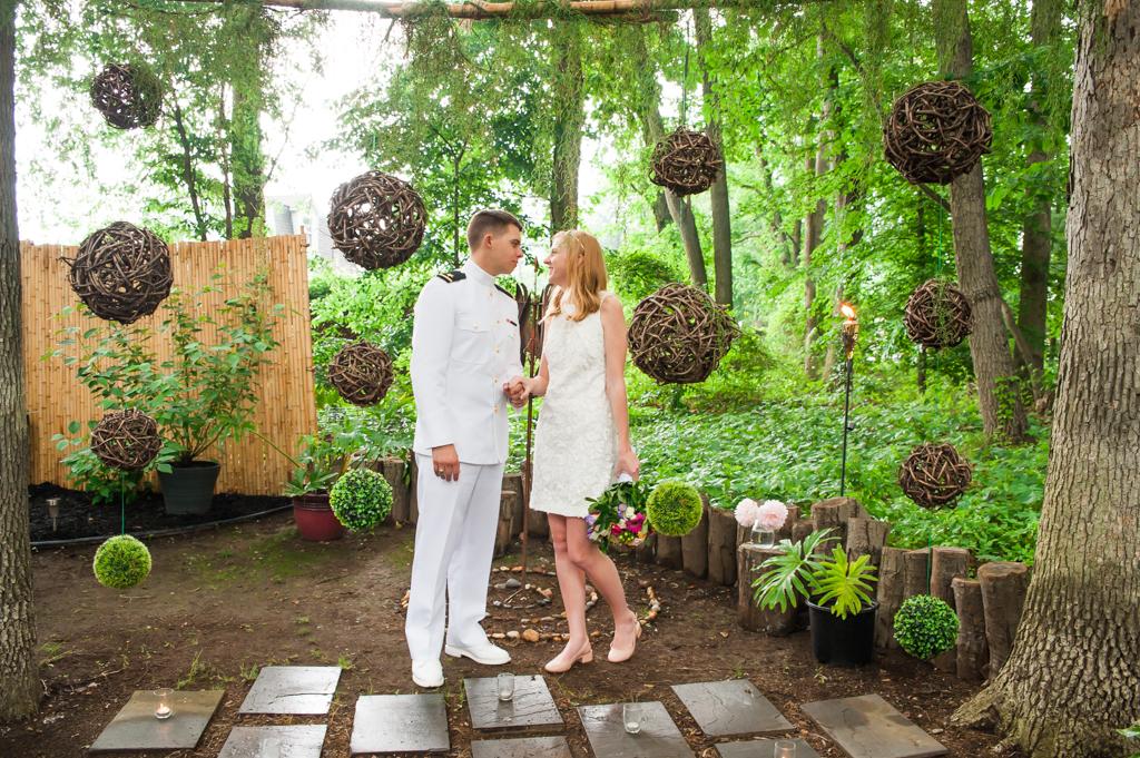 Kiara & Milo's Maryland Zen Garden Wedding