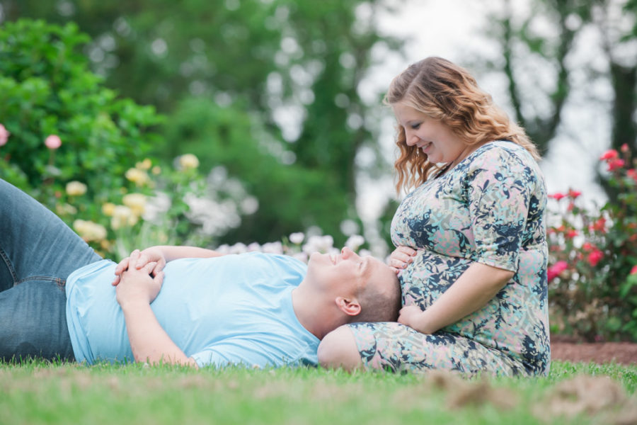 Kortney & Greg's Southern Maryland Maternity Session