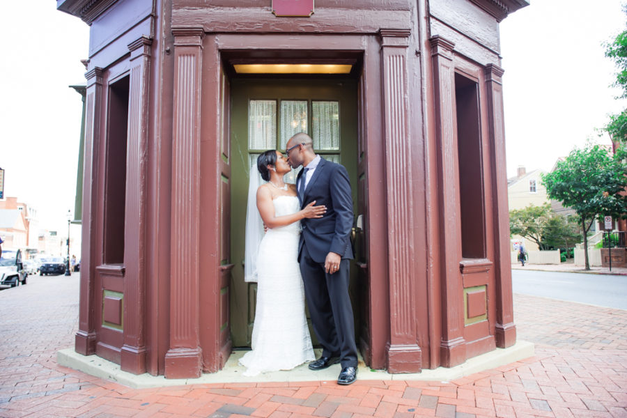 Alisha & Orrin's Downtown Annapolis Wedding