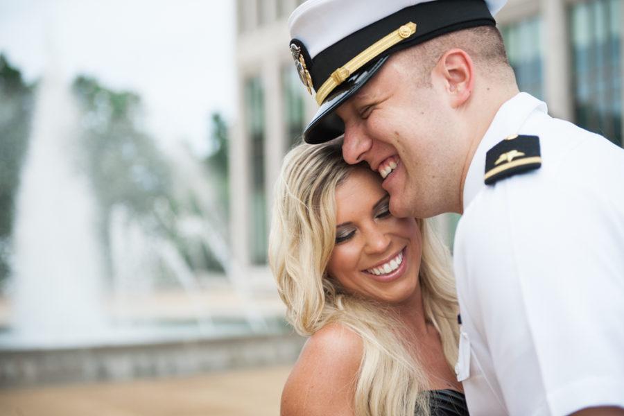 Angela & Erick's U.S. Naval Academy Engagement