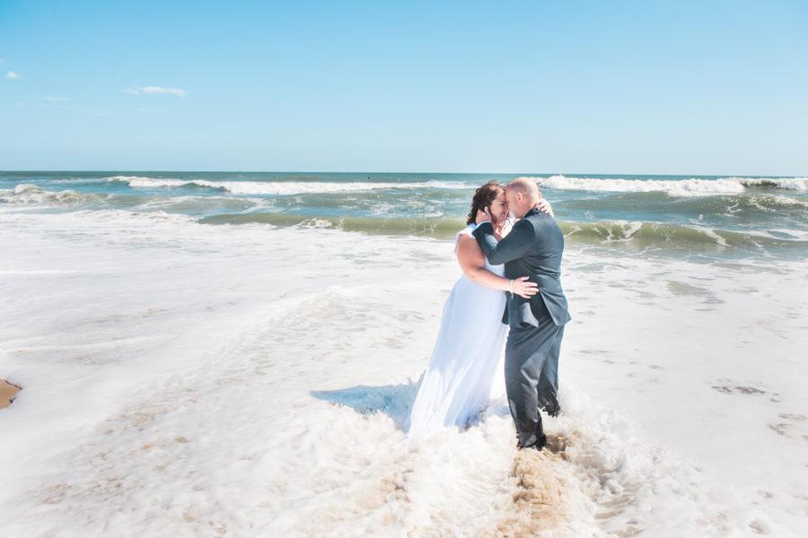 Amanda & Brandon's Ocean City Beach Wedding