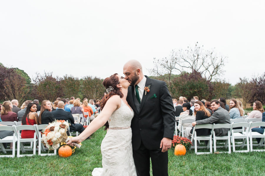 Amanda & Tony's Autumn Southern Maryland Wedding